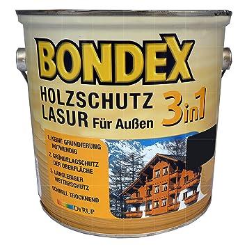 Top Bondex 3in1 Holzlasur für außen 0,75 Liter farblos: Amazon.de LE72