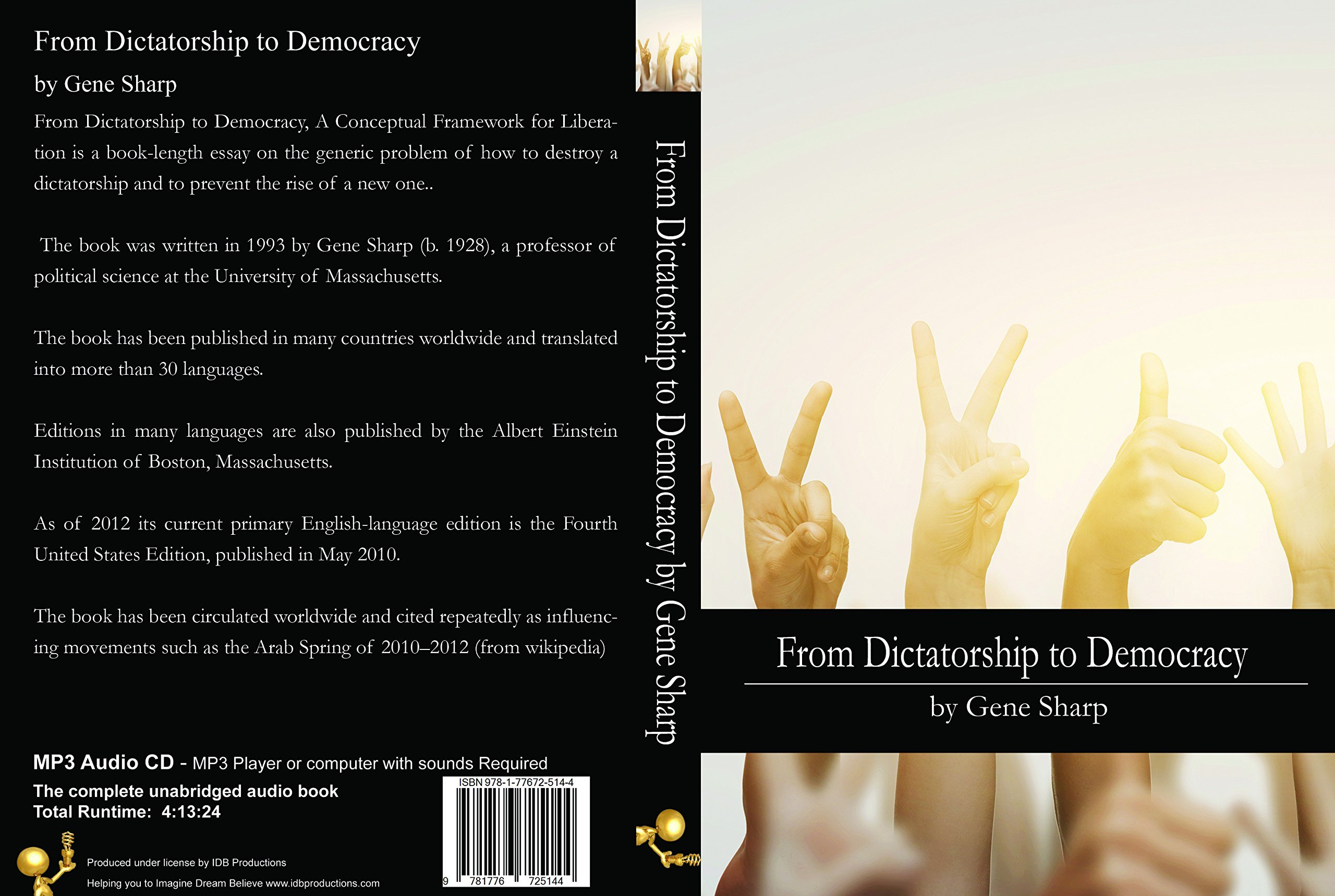 from dictatorship to democracy gene sharp  from dictatorship to democracy gene sharp 1928 9781776725144 com books
