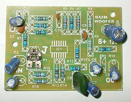 Phenomenal Soumik Electricals Subwoofer Filter Board Amazon In Electronics Wiring 101 Capemaxxcnl