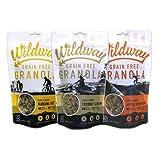 Wildway Gluten-free, Paleo, Grain-Free Granola Variety 3 Count, 8 oz.