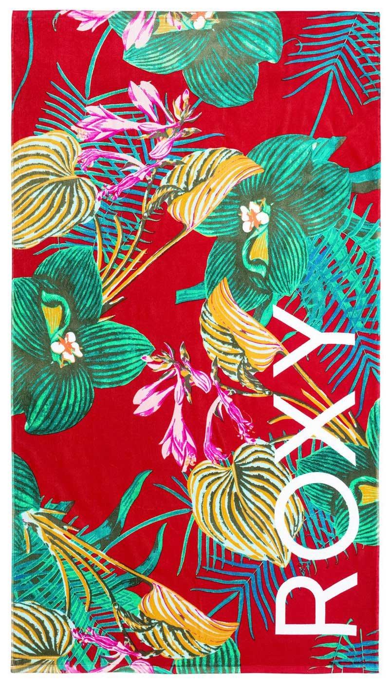 Roxy - Camiseta de Roxy Hazy - Toalla de playa (erjaa03267, Salsa Havana Flower: Amazon.es: Deportes y aire libre