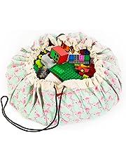 Play&Go Flamingo Toy Storage Bag