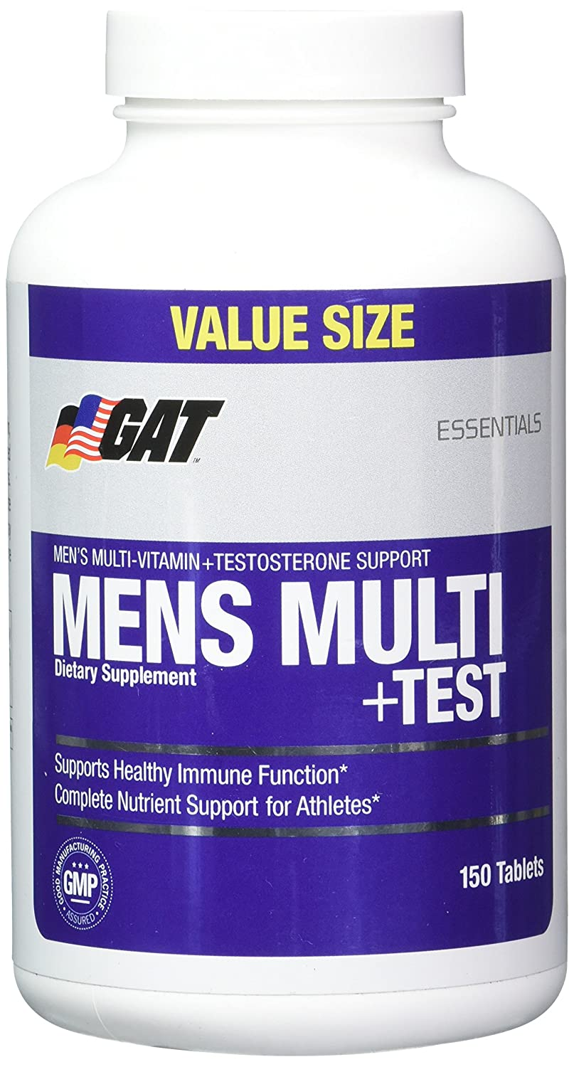GAT Men Multi Plus Test Capsules, 150 Count