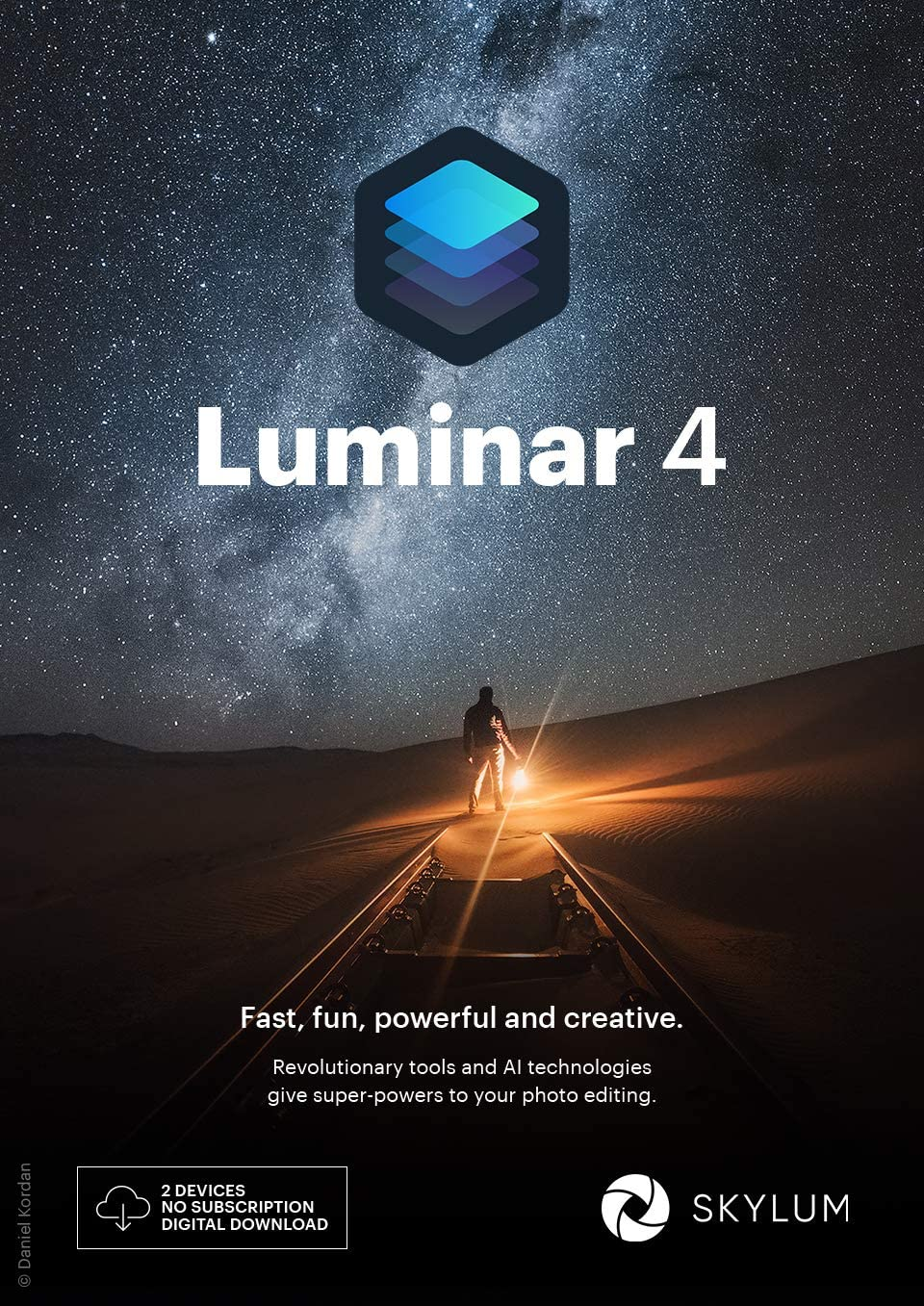 Luminar 4 Photo Editing Software | AI-powered Art Software for Creatives | Smart retouching Software [Download for Windows/MAC]