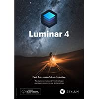 Luminar 4 Photo Editing Software | AI-powered Art Software for Creatives | Smart retouching Software [Download for Windows/MAC]