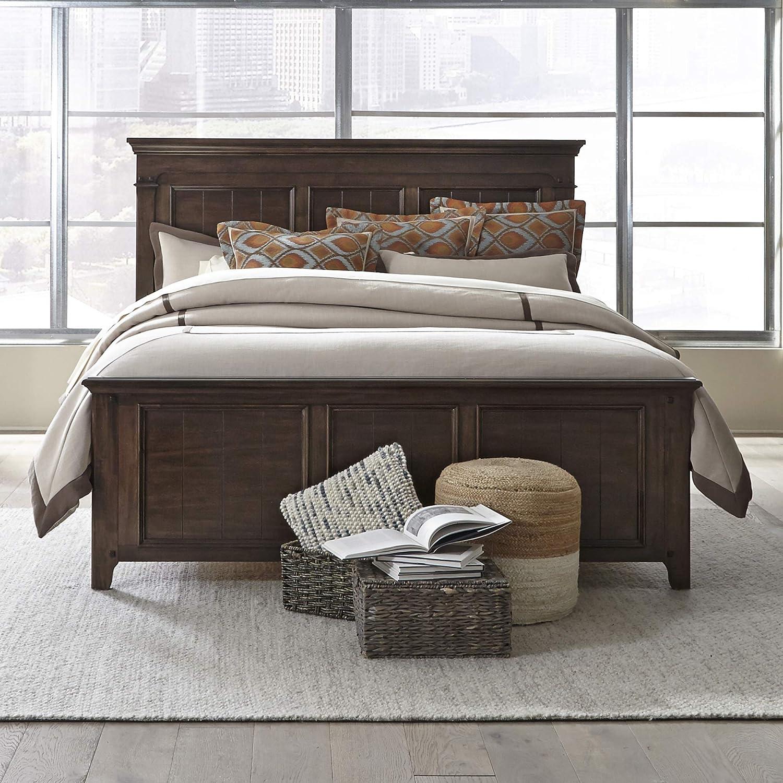 Liberty Furniture Industries Saddlebrook Other, King, Dark Brown