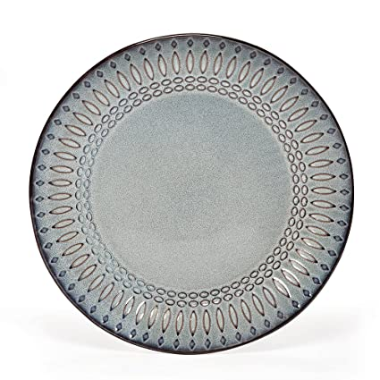 Gourmet Basics Broadway Dinner Plate 10-1/2-Inch  sc 1 st  Amazon.com & Amazon.com | Gourmet Basics Broadway Dinner Plate 10-1/2-Inch ...