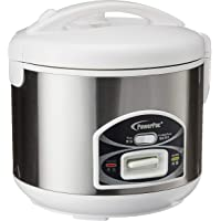 PowerPac PPRC21 3 in 1 Rice, Porridge Cooker and Steamer, 1.2L