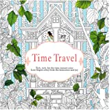 Sannysis Adult Coloring Book, Fun Designs Stress Relief Coloring Book--Time Travel