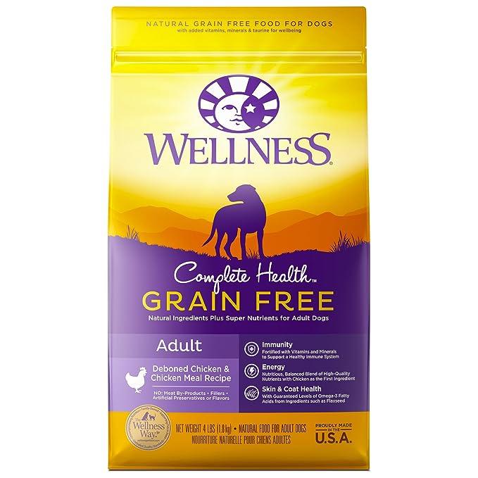 Amazon Wellness Complete Health Natural Grain Free Dry Dog Food