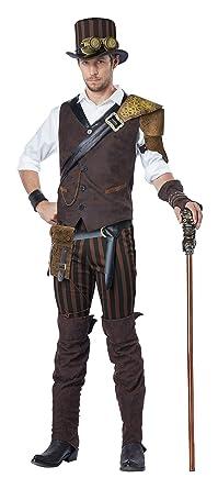 04f83237d Amazon.com: California Costumes Men's Steampunk Adventurer Costume ...