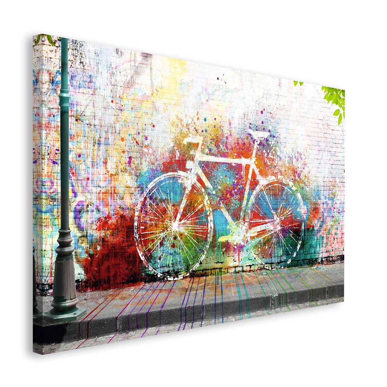REINDERS Wo ist das Fahrrad? - Wandbild 118 x 70 cm