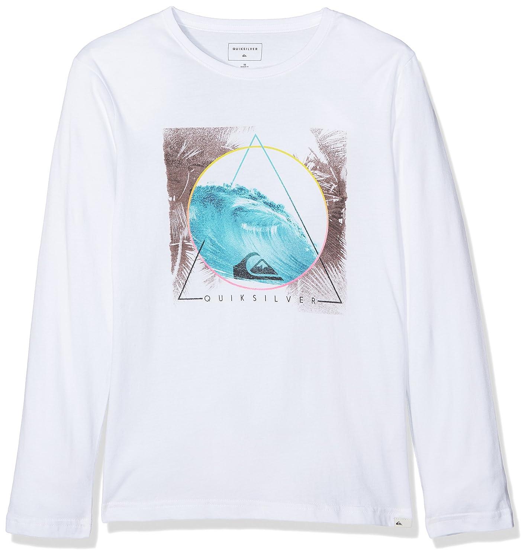 Quiksilver Boys' Classic Bermuda Tri Long Sleeve T-Shirt Lanai Ltd EQBZT03569