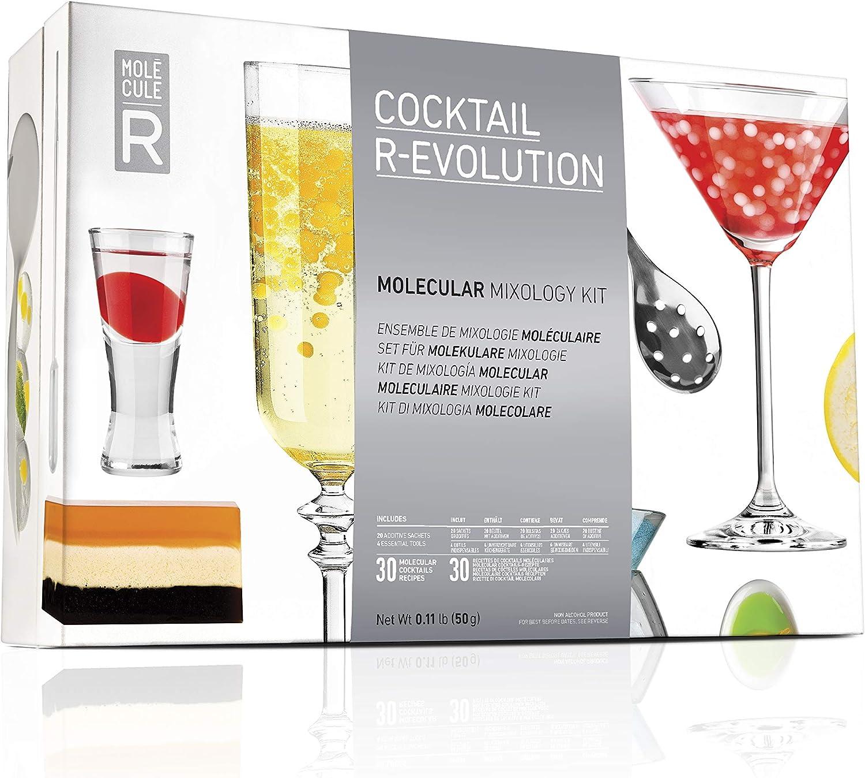 Molecular Evolution 627843000000 - Kit de mixología molecular de varios colores