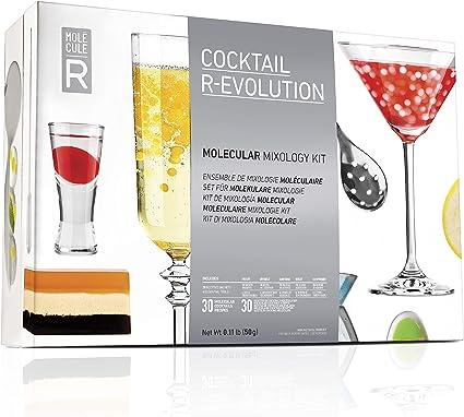Compra Molecular Evolution 627843000000 - Kit de mixología molecular de varios colores en Amazon.es