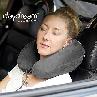 Daydream N-5452 Premium Plus - Cuscino da viaggio in Memory Foam, colore: grigio N-5402