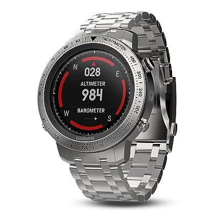 Amazon.com: Garmin Fenix Chronos Acero Reloj Acero, Acero ...
