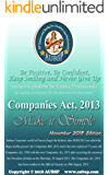Companies Act, 2013 (Make it Simple) by AUBSP: For May/June 2019 CA/CS/CMA Exams