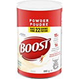 Boost Powder- Vanilla Instant Breakfast Drink Mix, 880 g Canister