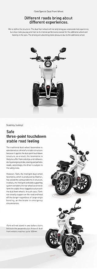 Amazon.com: Doohan iTank EV3 - Ruedas eléctricas para ...