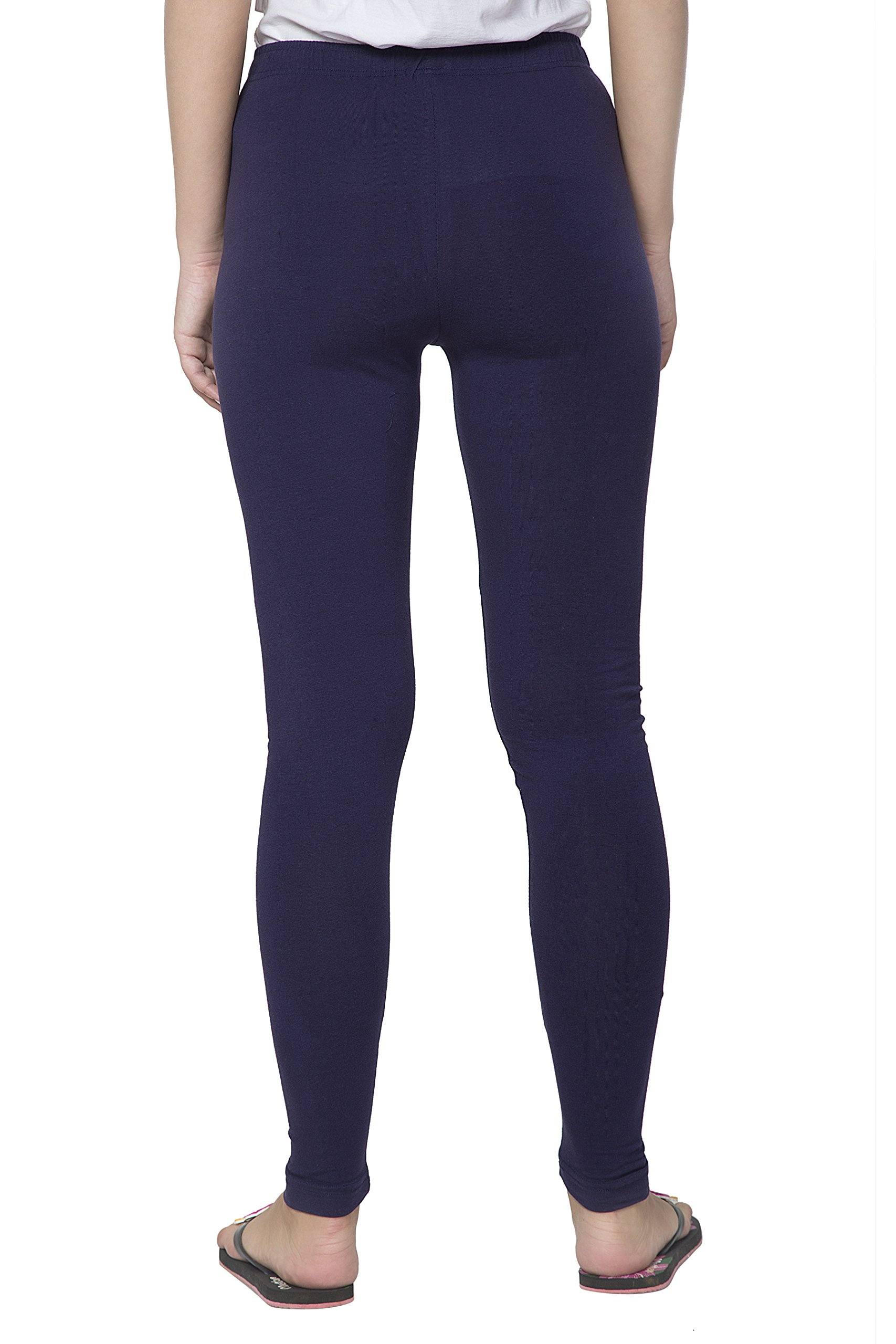 Clifton Women's Cotton Spandex Fine Jersey Leggings Pack Of 4-Assorted-2-XL by Clifton (Image #7)