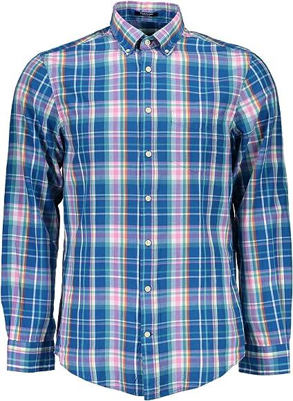 Gant 1601.347710 Camisa con Las Mangas largas Hombre Multicolore 449 M: Amazon.es: Ropa y accesorios