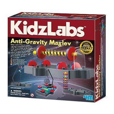 4M Kidzlabs Anti Gravity Magnetic Levitation Science Kit - Maglev Physics Stem Toys Educational Gift for Kids & Teens, Girls & Boys (3686): Toys & Games