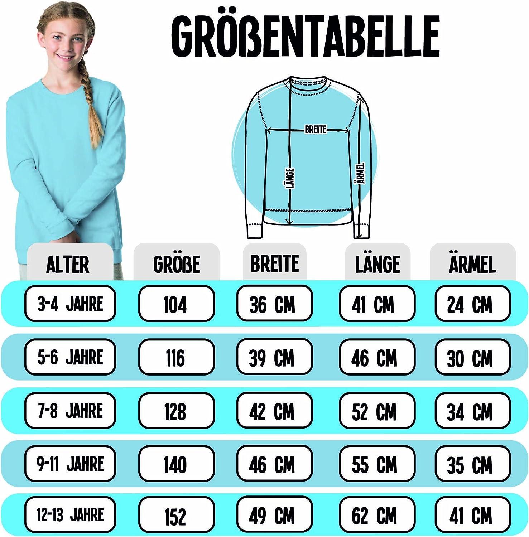 S/ü/ßer Wal Kinder Pullover Tiermotive Kind Shirtracer