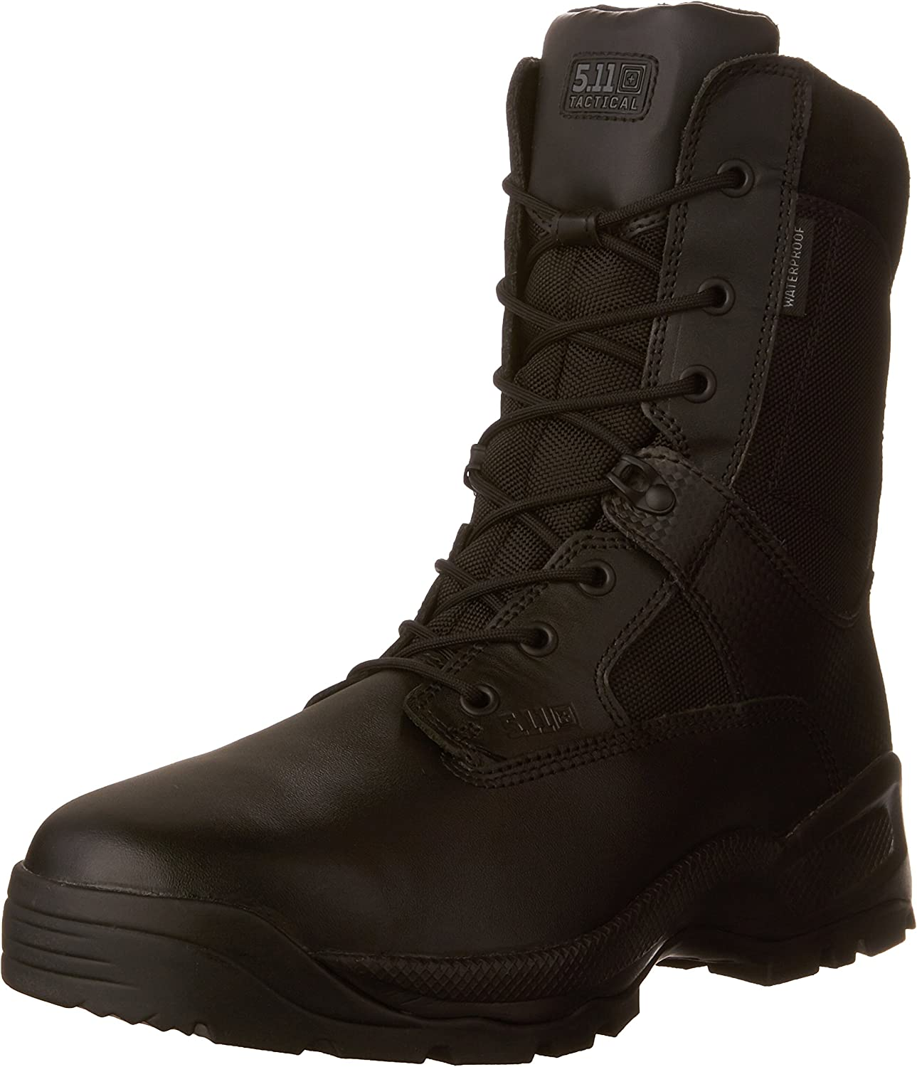 5.11 Tactical Men's ATAC 1.0 Waterproof Military Storm Boots, Slip Resistant Outsole, Style 12004: Shoes