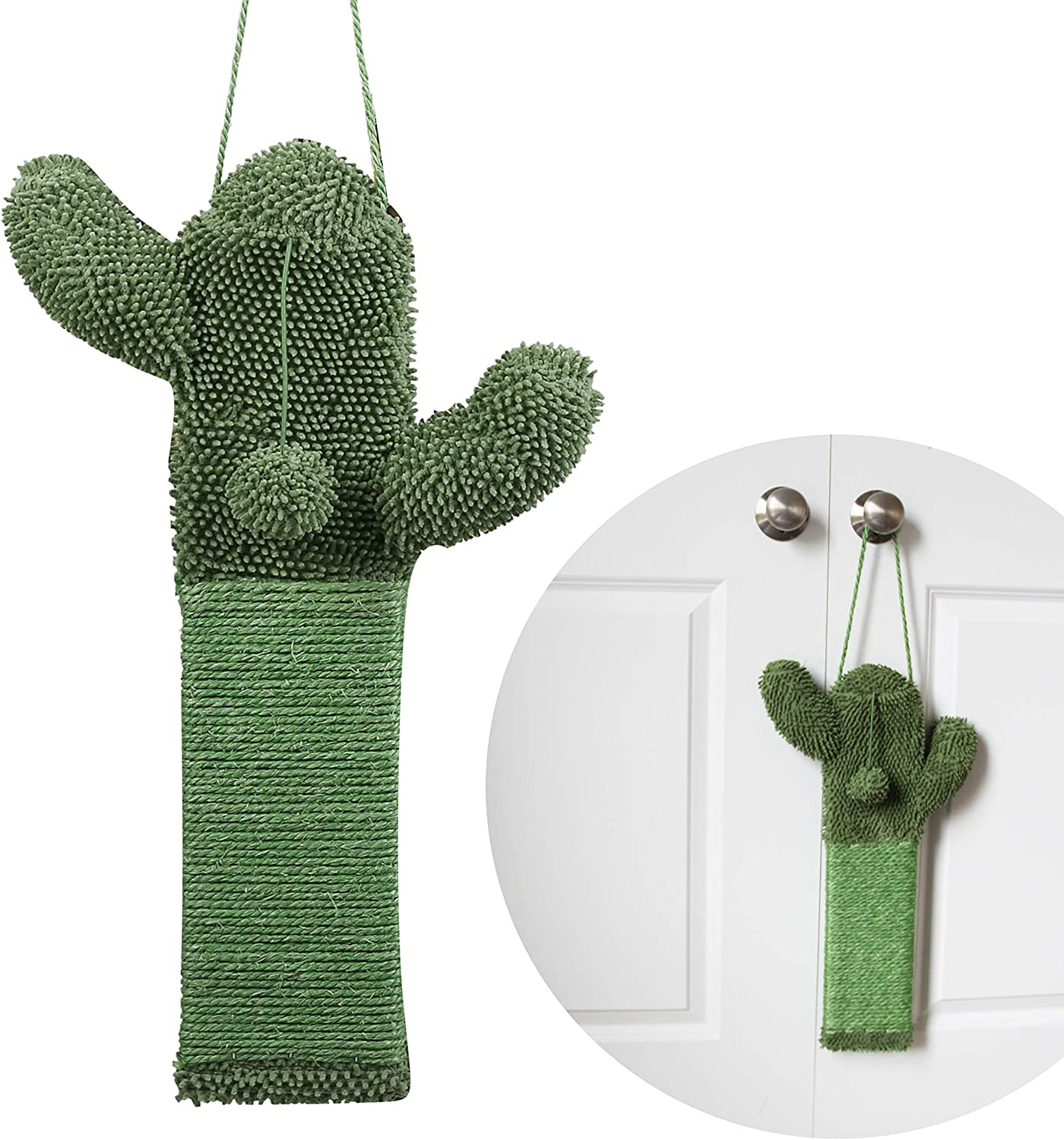 PetnPurr Cactus Cat Scratcher – Protect Your Furniture with Natural Sisal Scratching Posts and Pads