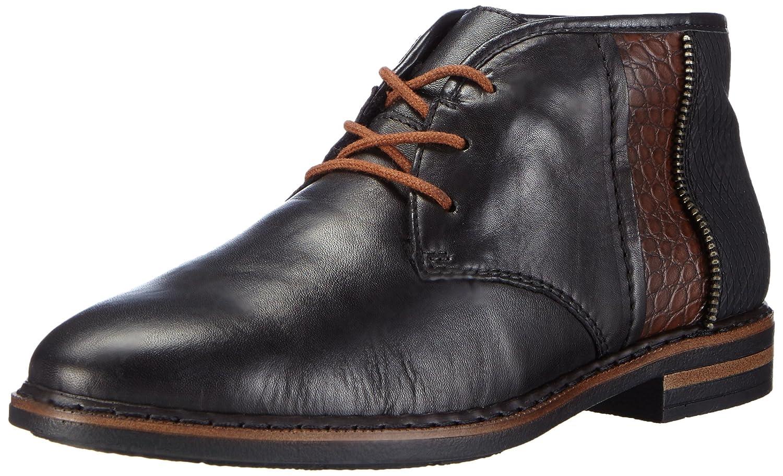 Rieker50620 - Zapatos Planos con Cordones Mujer 41 EU|Negro - Schwarz (Schwarz/Mogano/Schwarz / 01)