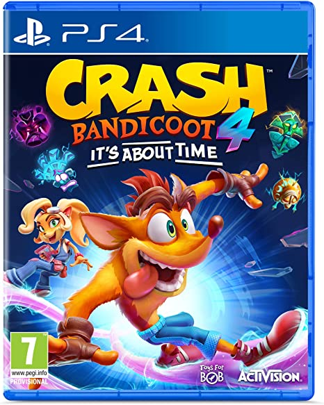 Crash Bandicoot 4: It's About Time en Amazon