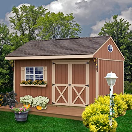 amazon com best barns northwood 14 x 10 wood shed kit garden