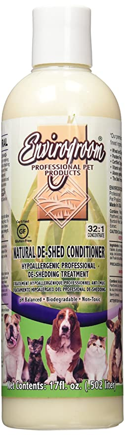Envirogroom Natural De Shed Conditioner, 17 oz