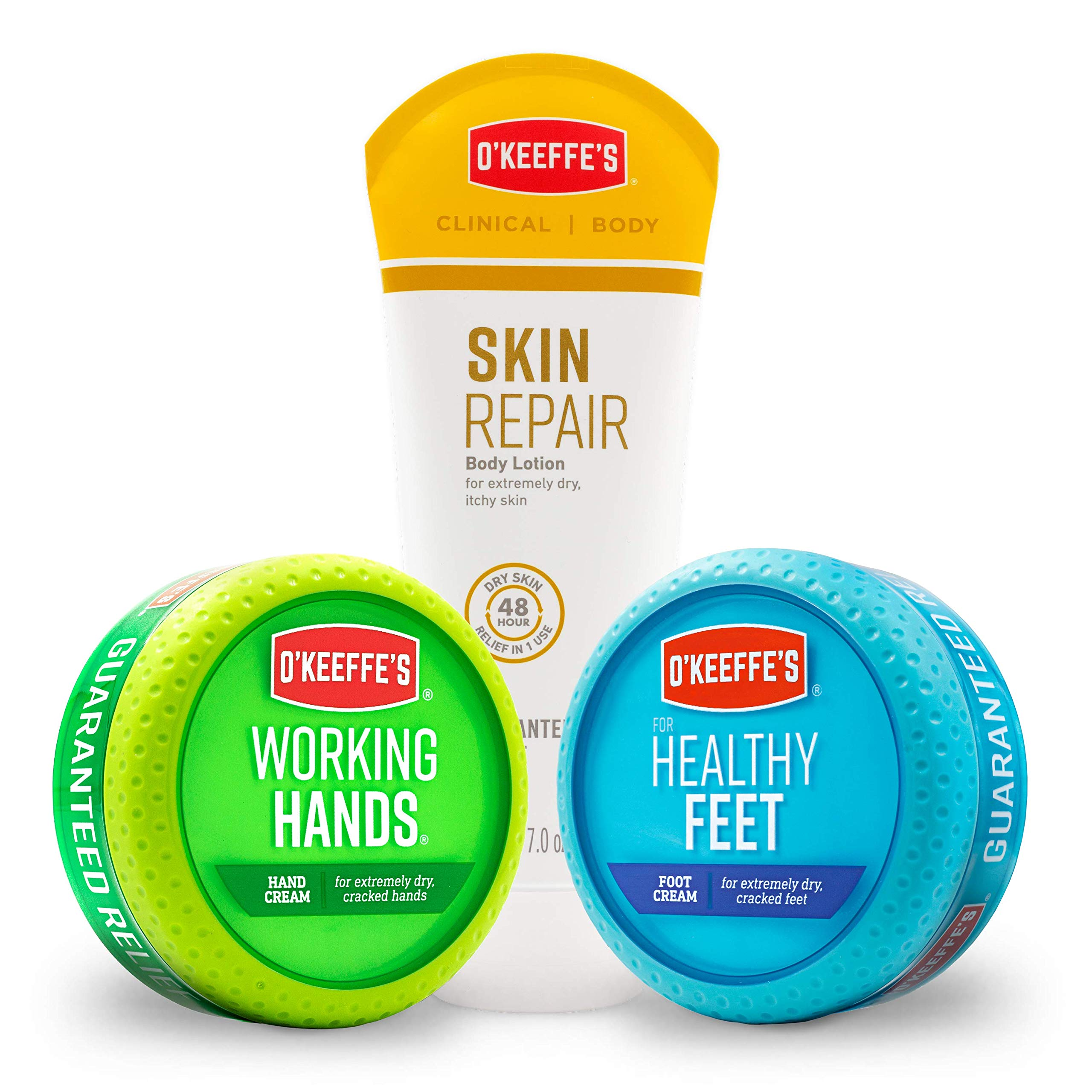 O'Keeffe's Working Hands, Healthy Feet, Skin Repair Variety Pack