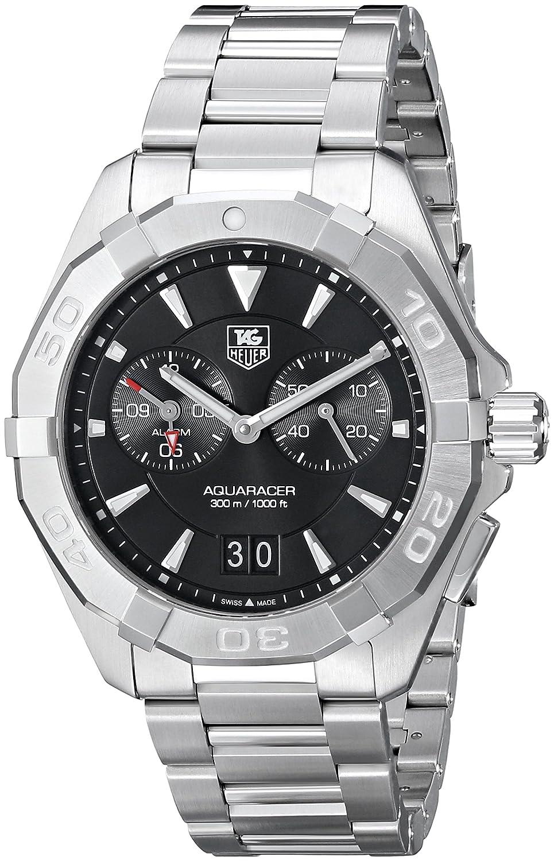 TAG Heuer Men s WAY111Z.BA0910 300 Aquaracer Silver-Tone Stainless Steel Watch