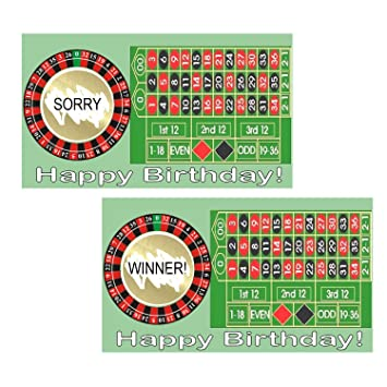 Amazon happy birthday casino night scratch off game tickets happy birthday casino night scratch off game tickets party game set of 20 cards business card colourmoves