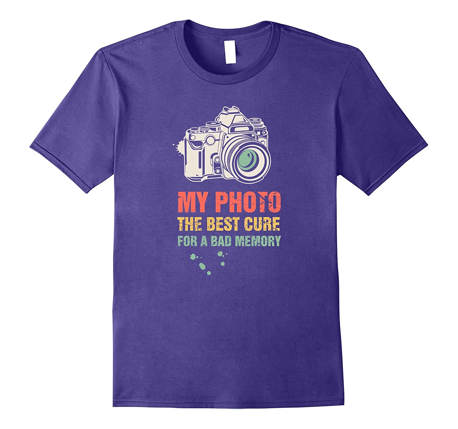 Vintage Photography T-shirt - Photographer clothes Gift-Rose