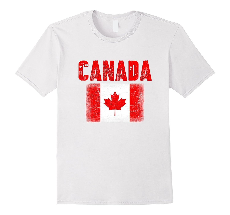 Canada Flag Tshirt Canadian Maple Leaf Flag Clothing-CL