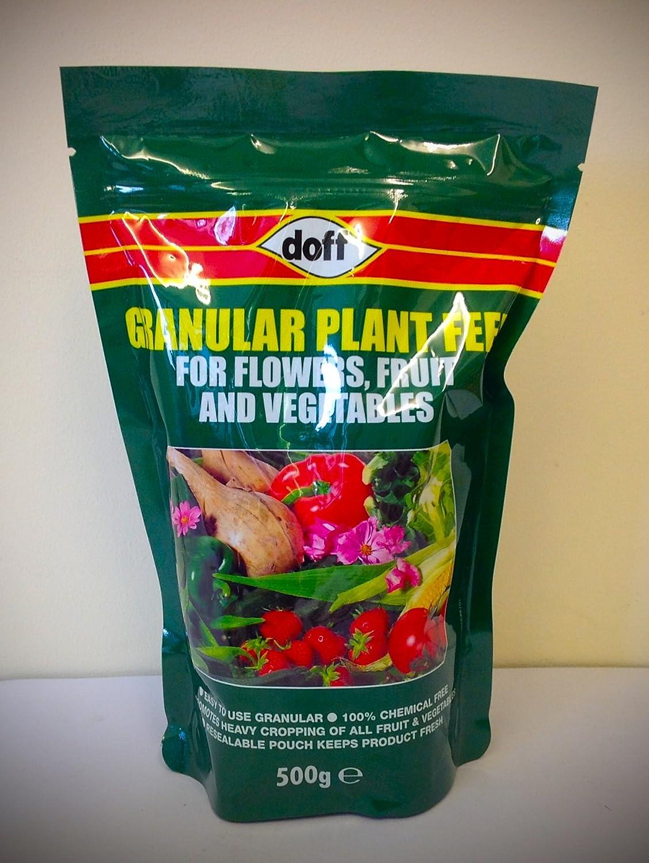 Doff Granular Plant Feed - Flowers, Fruit & Vegetables - 500g