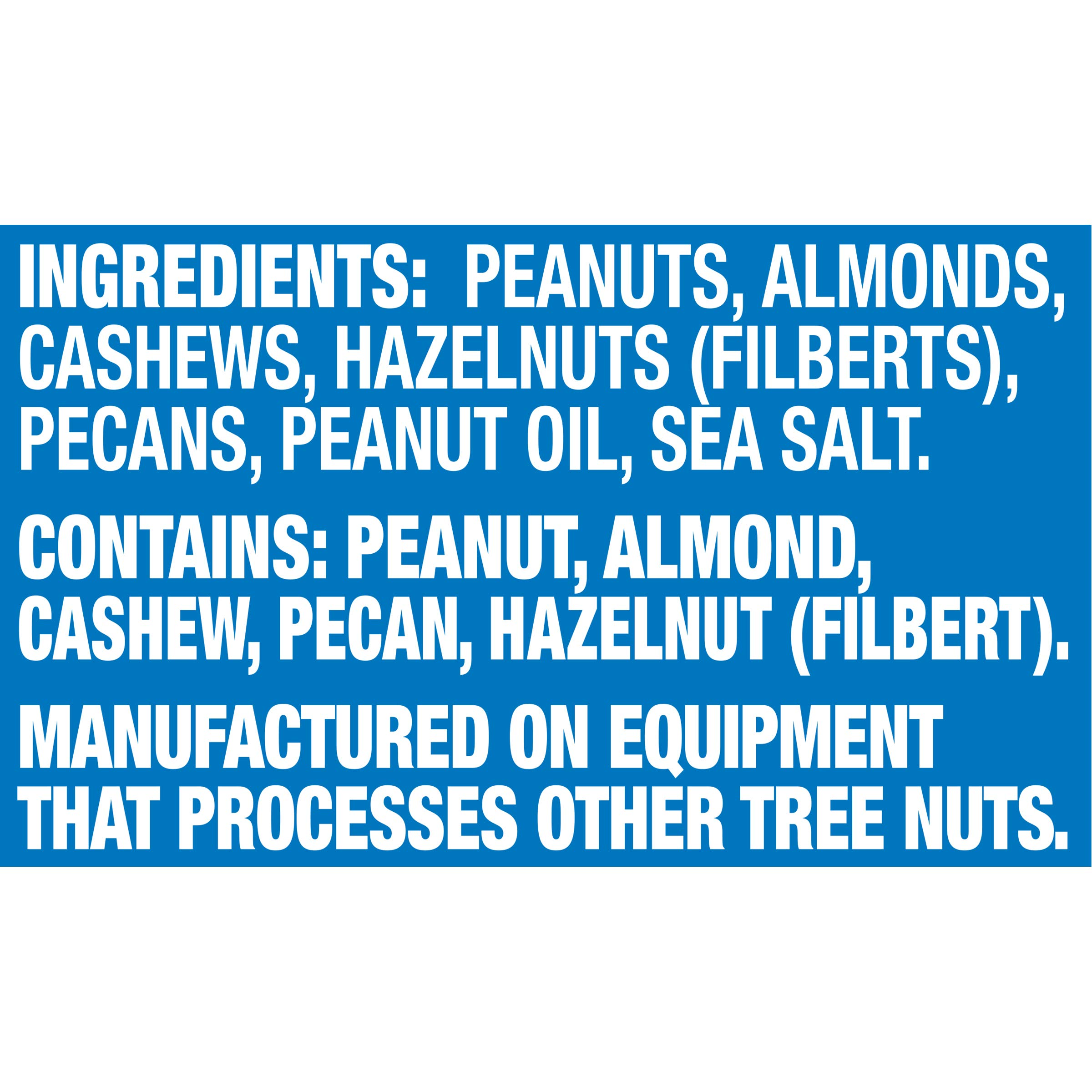 Planters Mixed Nuts, Regular Mixed Nuts, 1lb 11 Ounce Jar by Planters (Image #3)