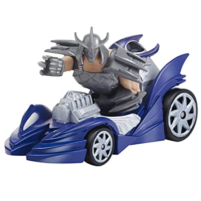 Teenage Mutant Ninja Turtles T-Machines Shredder in Shreddermobile Diecast Vehicle: Toys & Games
