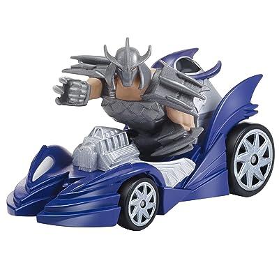 Teenage Mutant Ninja Turtles T-Machines Shredder in Shreddermobile Diecast Vehicle: Toys & Games