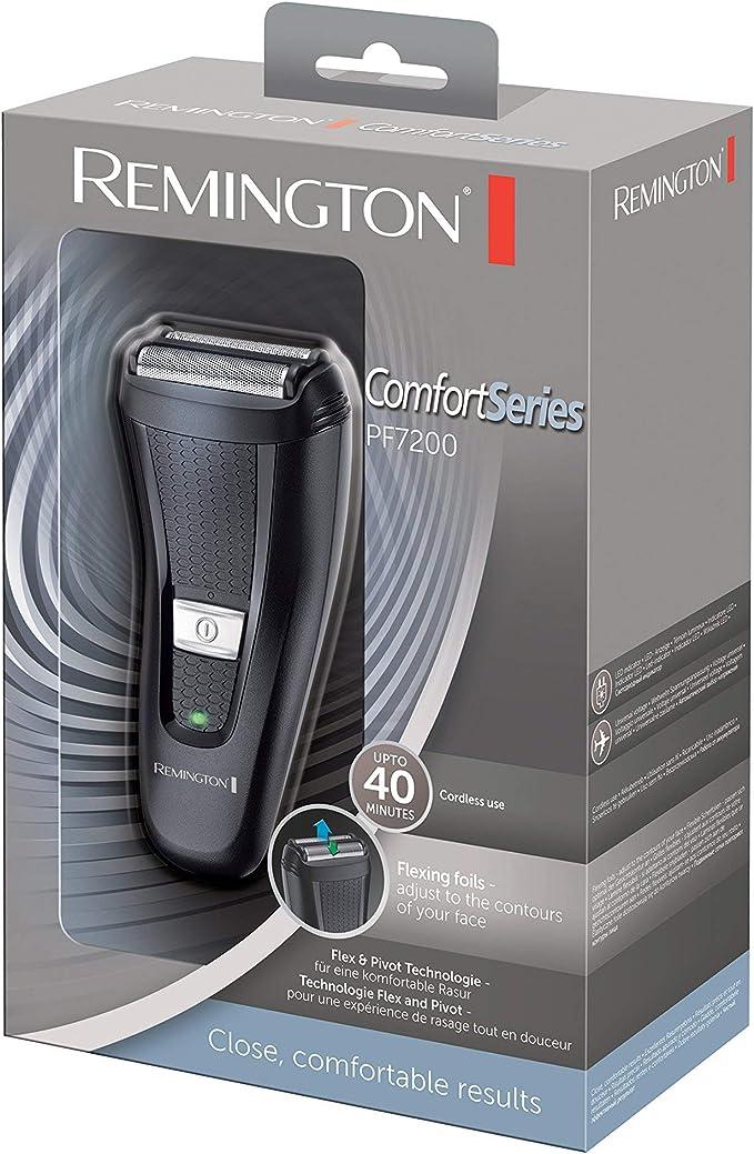 Remington Comfort Series PF7200 Afeitadora de Láminas Flexibles ...