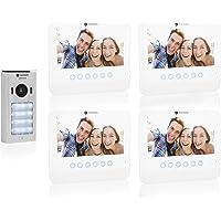 Smartwares DIC-22242 - Videoportero para 4 ranuras DIC-22242