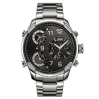 Amazon.com: JBW - Reloj de pulsera para hombre con diamante ...