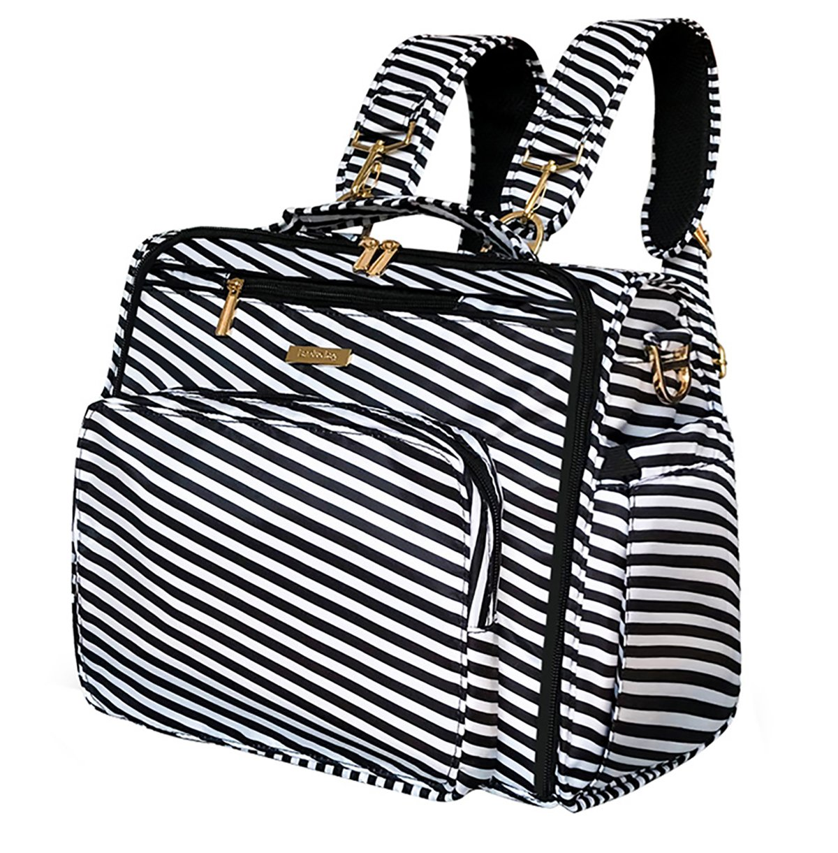 LAND Convertible Diaper Bag Backpack for Baby Boys and Girls Maternity Nappy Bag for Mom (Black) 22056920