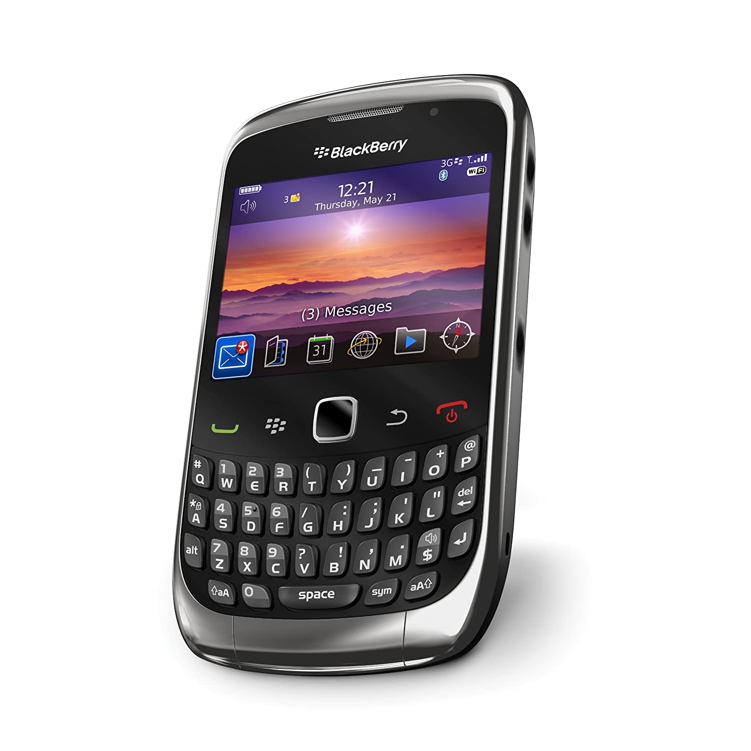 Blackberry curve 3g 9300 sim free smartphone amazon electronics reheart Choice Image