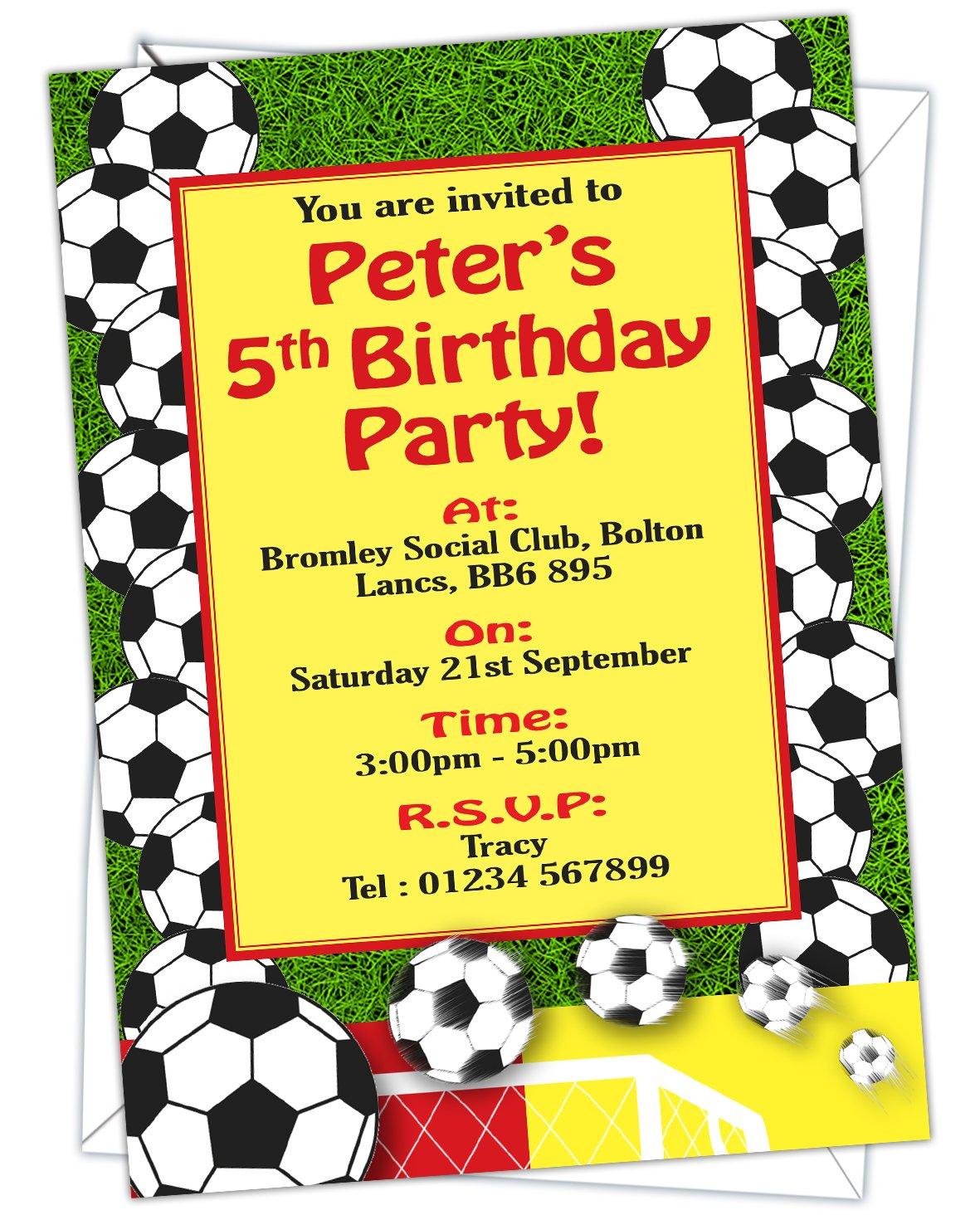 Invitaciones para fiesta de cumpleaños, diseño de balón de ...