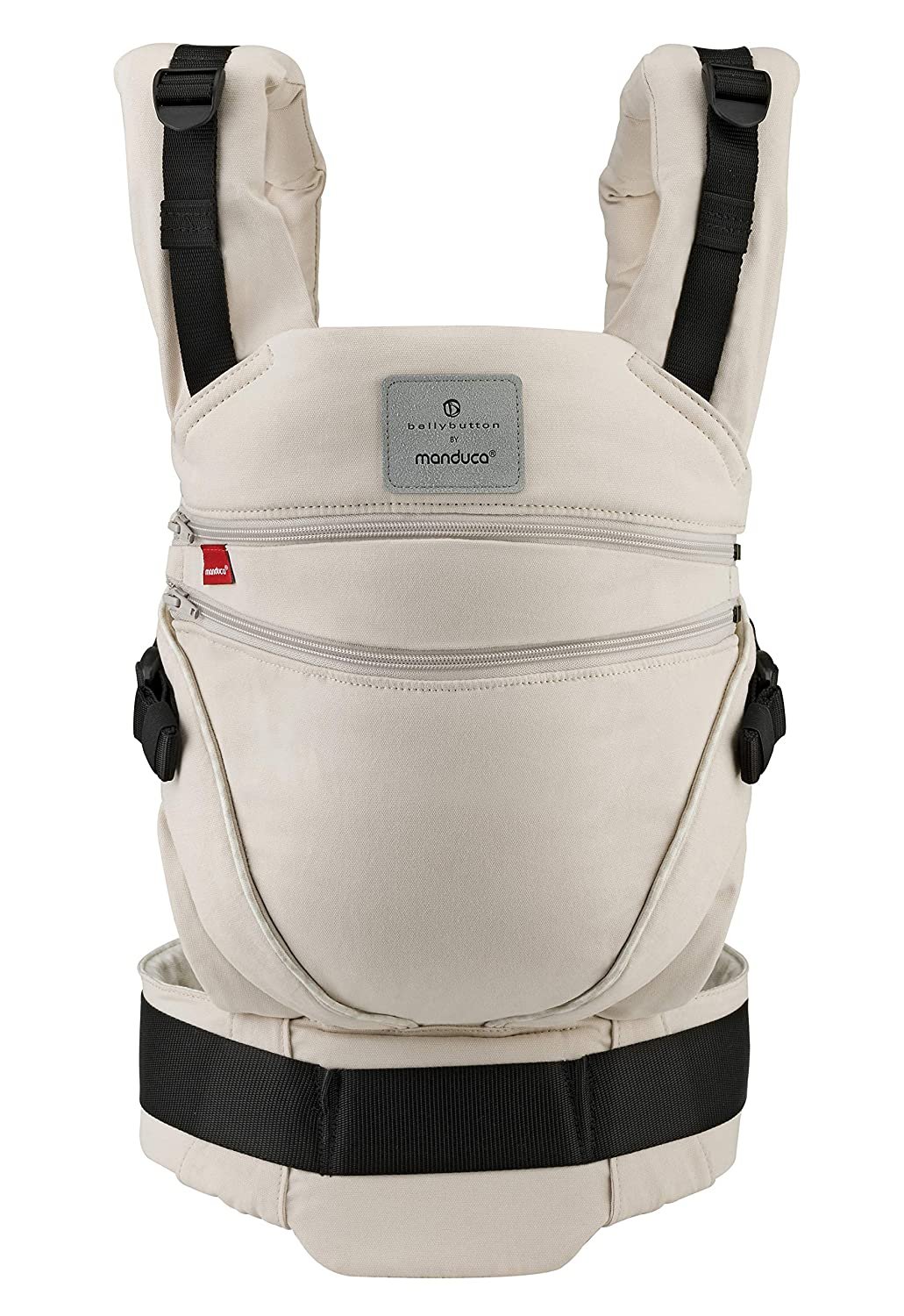 Adapts to Babies from Newborn to Toddler Front Organic Cotton No Infant Insert Needed Hip /& Back Carry 3.5-20kg manduca XT Limited Edition  Butterfly Grey  Baby Carrier with Adjustable Seat